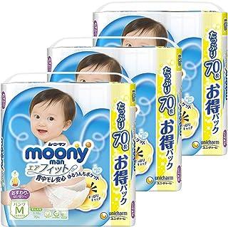 【Amazon.co.jp】【ケース販売】ム-ニ-マン パンツ M おすわり?はいはい(5~10kg) エアフィット 210枚(70枚×3)
