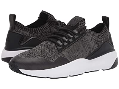 Cole Haan ZEROGRAND All-Day Trainer with Stitchlite (Black/Gray Pinstripe Knit/Black/Optic White) Men