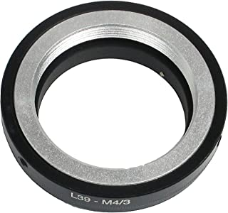 R-STYLE ライカ L マウント(L39/M39) レンズ マウントアダプター マイクロファイバークロス付きセット (マイクロフォーサーズ M4/3)