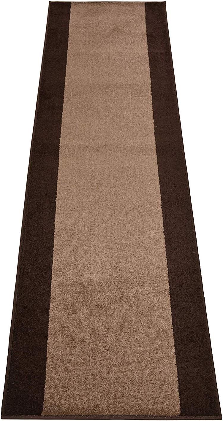 Custom 大特価!! Size Runner Rug Solid Border Roll Design 特売 W 25 Inch
