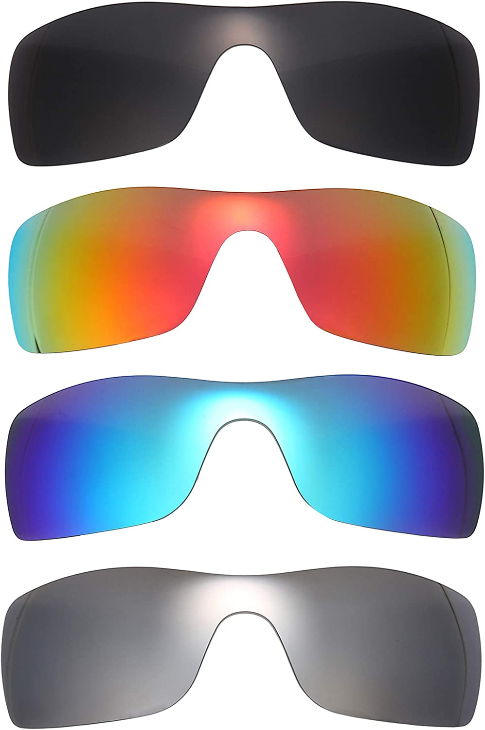 NicelyFit Polarized Replacement Directly managed store Lenses New mail order Shades for Oakley Batwolf