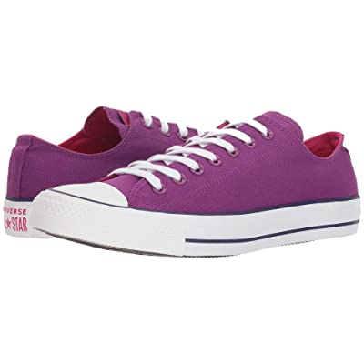 Converse Chuck Taylor All Star Seasonal Ox (Icon Violet/Pink Pop/White) Athletic Shoes