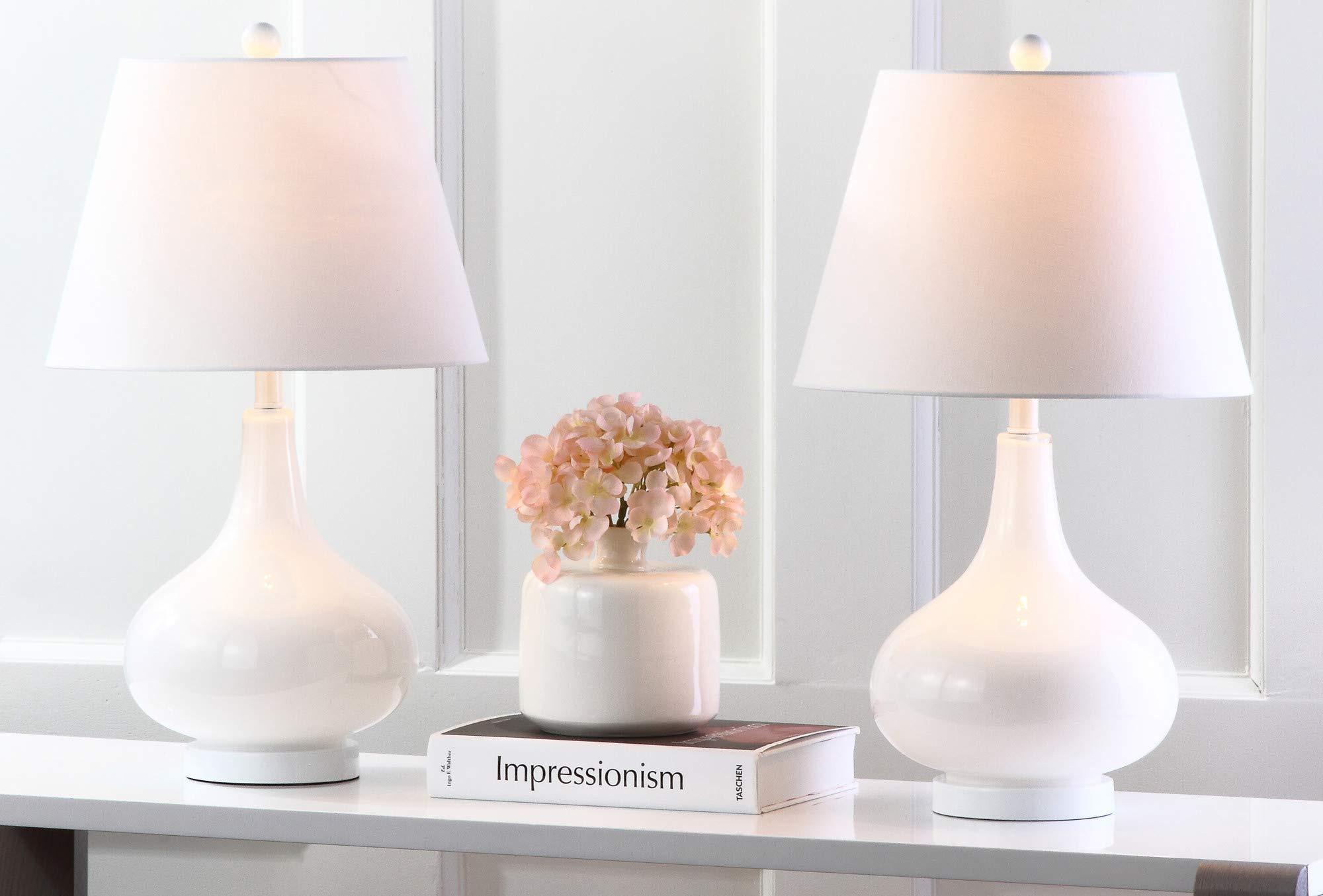 Safavieh Lighting Collection Amy Gourd lámpara de mesa de cristal: Amazon.es: Hogar