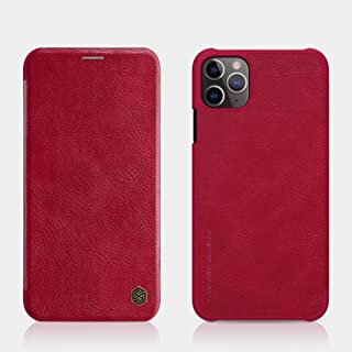Nillkin Apple For iphone 11 Pro Max Qin Leather Case - Red