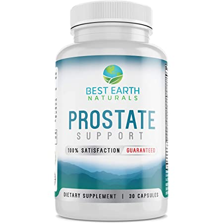 Prostate Health Support Supplement for Men - Prostate Support & Bladder Control Support Pills to Help Reduce Frequent Urination & DHT
