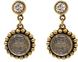 San Benito Magdalena Post Earrings in Gold