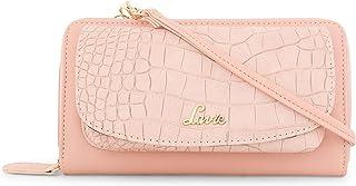 Lavie Naima Mobile + Sling Zip Around 1 Women's Wallet(Pink)
