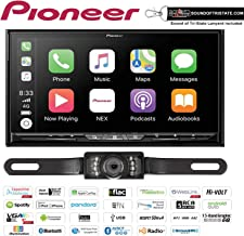 """Pioneer AVIC-W8500NEX in Dash 6.94"""" DVD Navigation Receiver with a License Plate Backup Camera and a Sound of Tri-State Lanyard Bundle"""