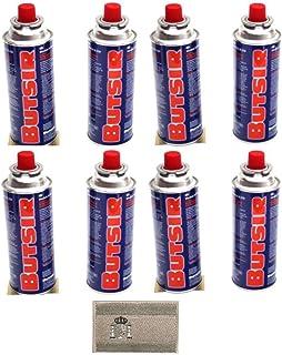 Militar-TLD Lote 8 Cartucho Gas BUTSIR Cartucho de Gas