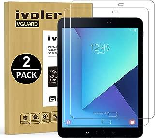 ivoler [2 Unidades] Protector de Pantalla Compatible con Samsung Galaxy Tab S3 9.7 Pulgadas / S2 9.7 Pulgadas, Cristal Vidrio Templado Premium [Dureza 9H] [Anti-Arañazos] [Sin Burbujas]