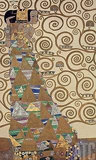 ArtToCanvas 19W x 39H inches : Die Erwartung by Gustav Klimt - Canvas w/Brushstrokes