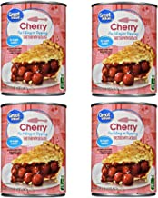 Pie Filling or Topping, No Sugar Added, Cherry, 20 oz (Pack of 4)