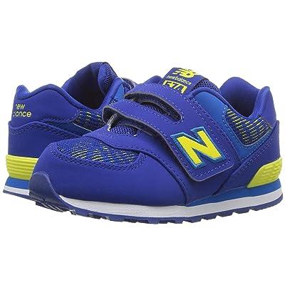 New Balance Kids IV574v1 (Infant/Toddler) (Team Royal/Laser Blue) Boys Shoes