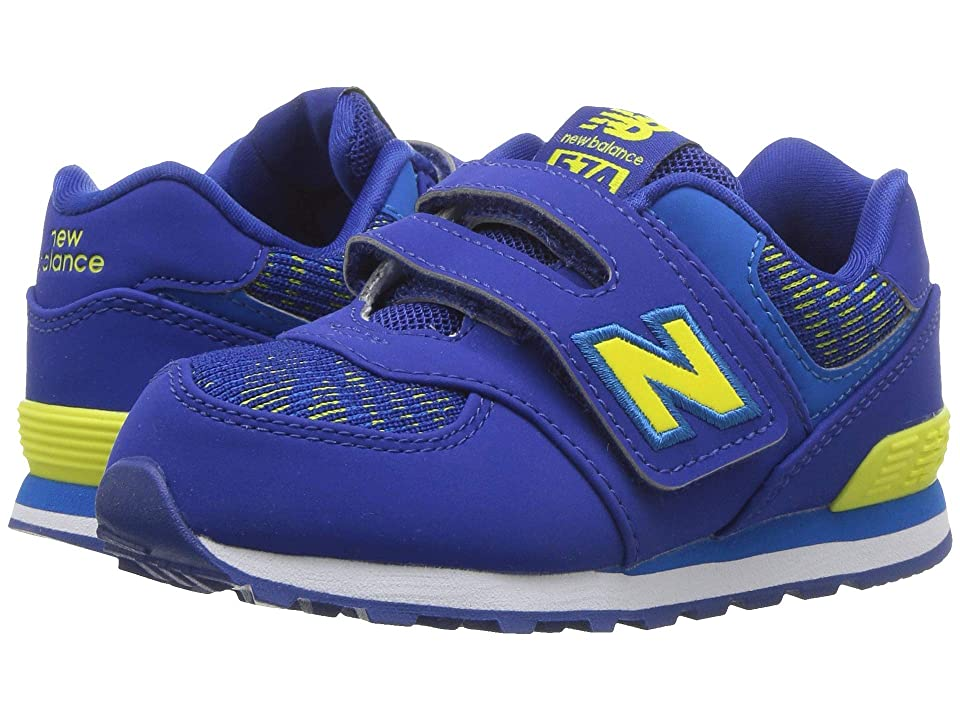 New Balance Kids IV574v1 (Infant/Toddler) (Team Royal/Laser Blue) Boys Shoes