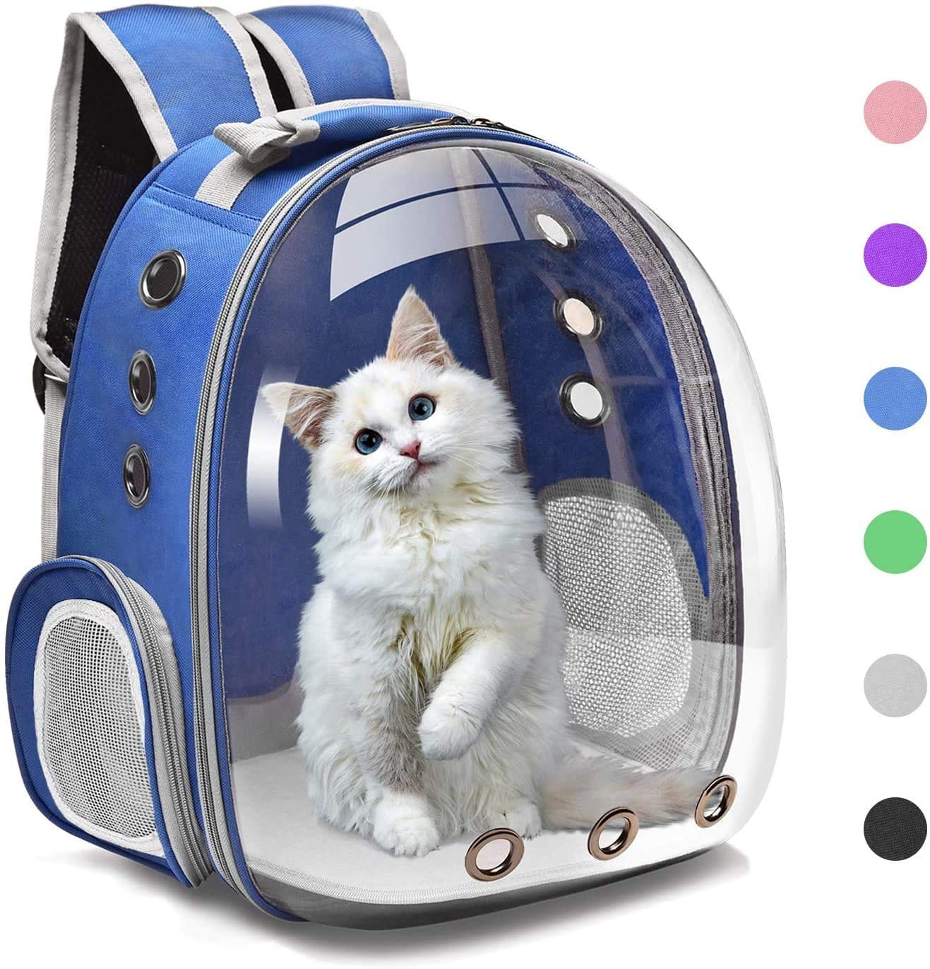 Pet Carrier Backpack Cat Breathable Ranking Same day shipping TOP14 Transparent Puppy