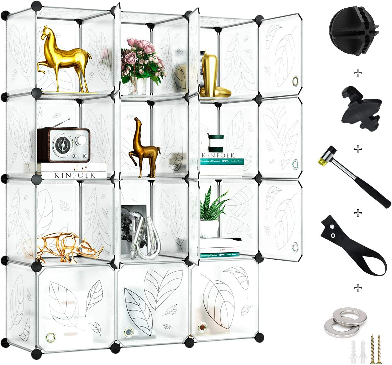 GREENSTELL Cube Storage Organizer Plastic with Closet All items Special Campaign free shipping