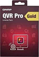 QNAP LIC-SW-QVRPRO-Gold Premium Feature Package for QVR Pro with Camera Channel Scalability 8 Channel License Included