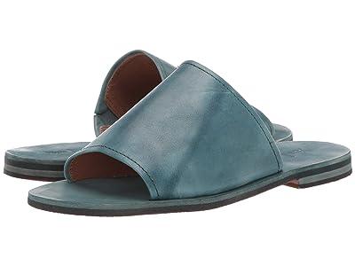 Frye Robin Slide (Turquoise) Women