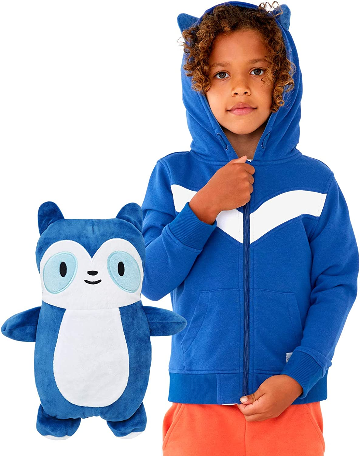 Cubcoats Kids Transforming 2 in 1 Sweater Soft Max 51% OFF Jacket Hoodie 4 years warranty and