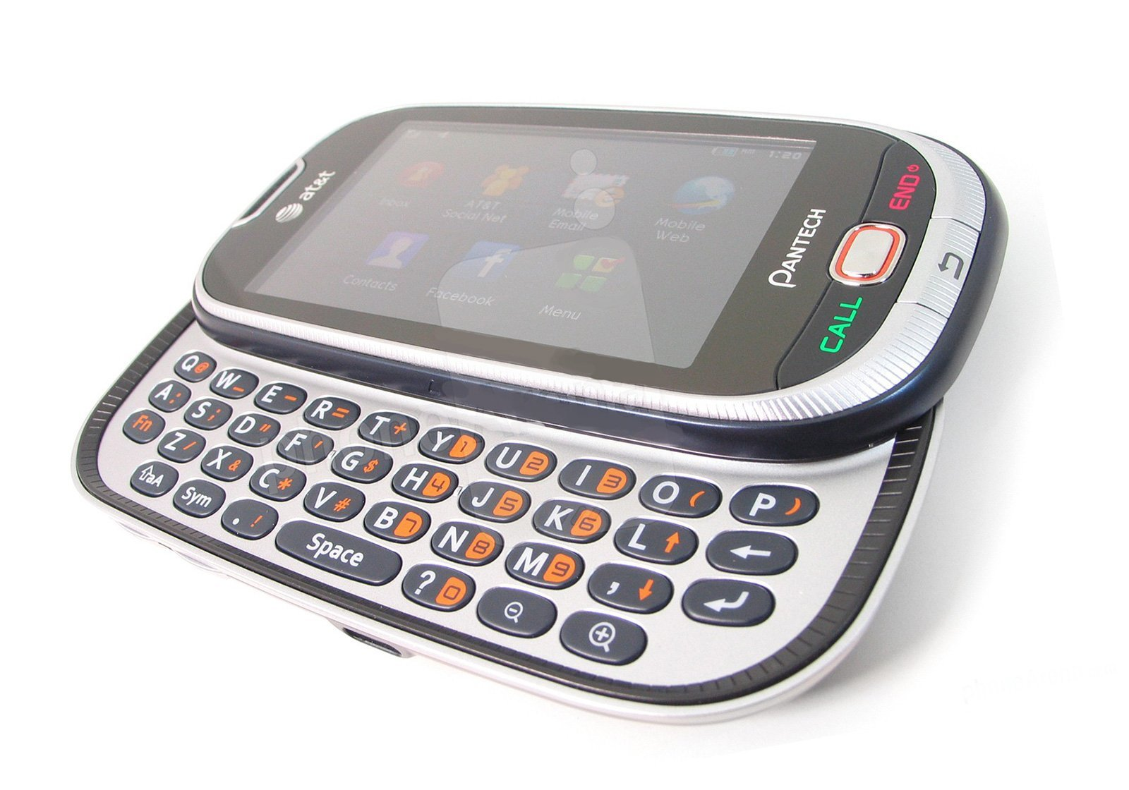 Unlocked P2020 Contract Keyboard Touchscreen