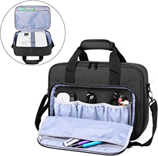 Luxja Projector Case, Projector Bag with Accessories Storage Pockets (Compatible with Most Major Projectors), Medium(13.75...