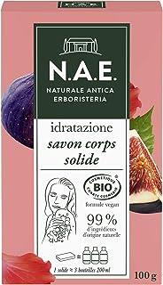 N.A.E. - Savon Solide Douche Corps Hydratant - Gel Douche - Certifié Bio - Formule Vegan - 99 % d'ingrédients d'origine na...