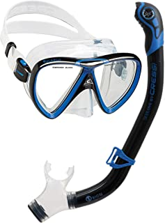 Cressi Adult Snorkeling Kit, Mask & Snorkel - Quality Equipment for Discovering the Underwater World | Ikarus & Orion: Designed in Italy