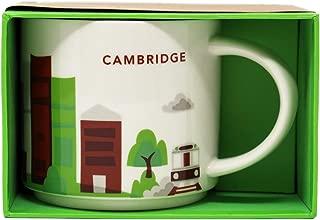 Starbucks Coffee Mug, You Are Here Collection, Cambridge MA, 14 Oz