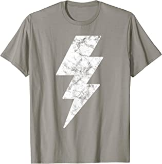 Lightning Bolt T Shirt for Men Women and Kids Tee Shirts