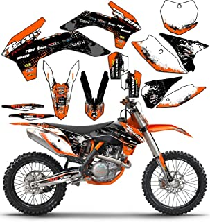 Team Racing Graphics kit compatible with KTM 2002-2008 SX 50, SCATTER
