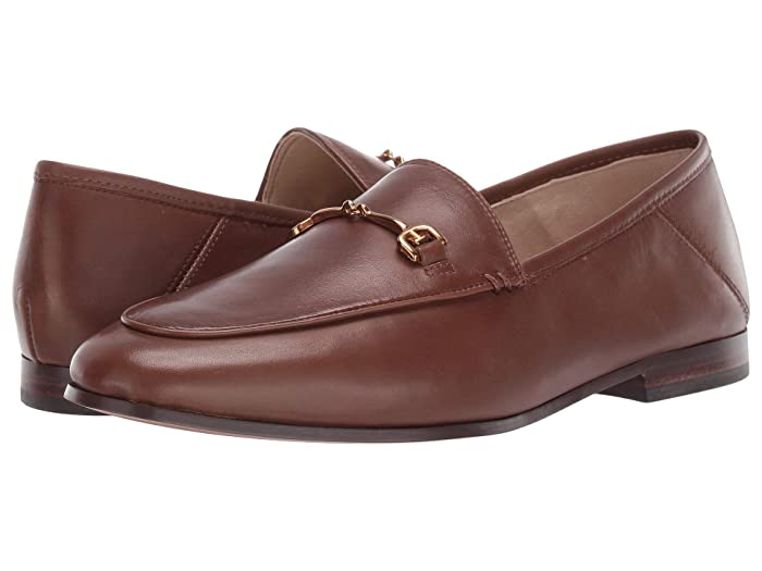 Sam Edelman  Loraine Loafer (Nut Brown Modena Calf Leather) Womens Dress Sandals