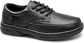 Dr Keller Brian 3 Mens Leather Lace Up Wide Fit Shoes Black