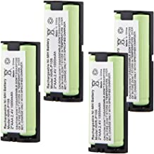 $24 » Panasonic HHR-P105 Phone Battery 2 AAA 2.4V 1000mAh Ni-MH Replacement Battery for Panasonic HHR-P105 HHR-P105A HHRP105 KX242 Uniden BT1009 BT-1009 EXP10000 BBTG0658001 (4 Pack)