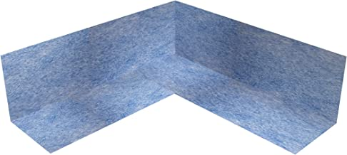 10x sanitaire afdichting hoek binnen TPE blauw 105x105mm binnenhoek 90° afdichting voor tegels voor badkamer badkamer douc...
