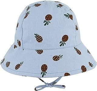 RoyalDS Cute Cartoon hat Unisex boy Girl Spring Summer Print Sunscreen Fisherman hat Size 52CM (Color : Coffee, Size : 52)