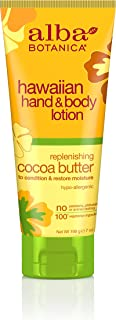 Alba Botanica Hawaiian, Cocoa Butter Hand & Body Lotion, 7 Ounce (Pack of 2)