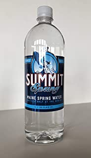 Summit Spring Maine Spring Water, 33 Ounce (Pack of 12)