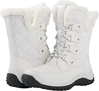 Best white lace up snow boots Reviews