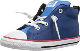 3ee88de6cd Converse Kids  Chuck Taylor All Star Street Leather Mid Sneaker