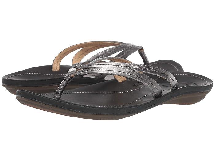 U'i  Shoes (Pewter/Black) Women's Sandals