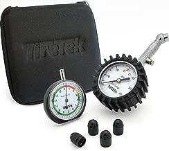 TireTek Automotive Gift Set - Includes Premium Tire Pressure Gauge, Tread Depth Gauge and Valve Caps - Best Car Accessories Pack for Tire Maintenance
