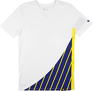 Men's Golden State Warriors DNA T-Shirt XX-Large White Blue Yellow
