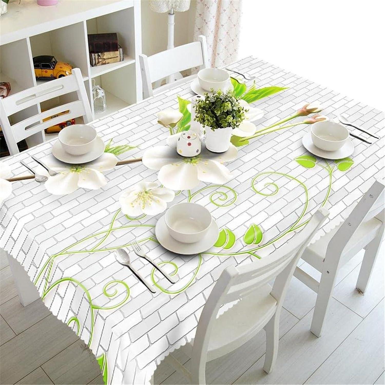 HUANZI KirschBlaumen Staub- 3D Umwelt Tischdecken geschmacklos, Rectangular Width 178cmx Long 274cm B074XVSYDM Niedrige Kosten  | Sehr gelobt und vom Publikum der Verbraucher geschätzt