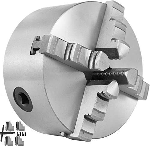 popular Mophorn Lathe Chuck K12-125 5 Inch 4-Jaw,Mini Lathe new arrival Chuck Quality Cast Iron online Material,Lathe Chuck Self-centering With Two Sets Of Jaws,for Lathe Machine online