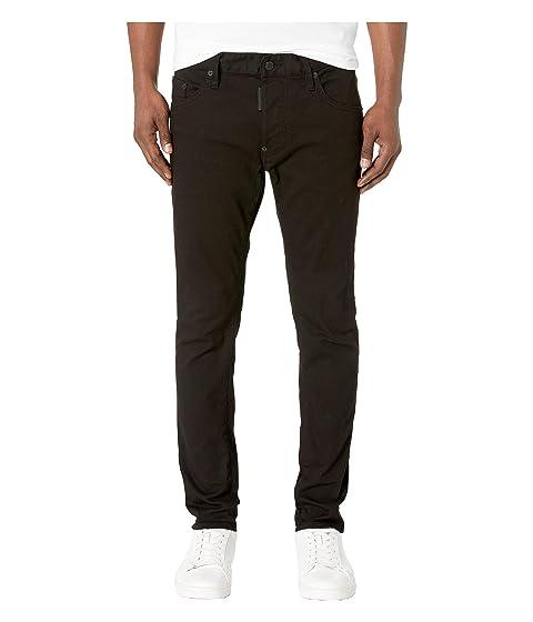 DSQUARED2 Garment Dyed Skater Jeans in Black