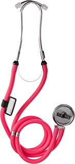 Labtron Neon Series Sprague Rappaport Stethoscope, Neon Pink, 602N-P