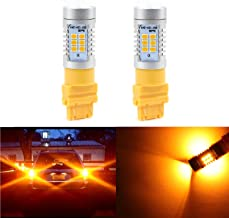 Extremely Bright Amber Yellow 21 LED 1260 Lumens PX Chips for 3156 3056 3356 3456 4156 3157 3047 3057 3357 3457 3757 4057 4111 4157 Amber Turn Signal LED Bulbs