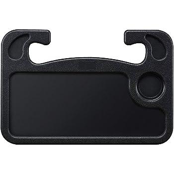 Lightter Steering Wheel Desk, Car Table Steering Wheel Tray and Vehicle Seat Mount Notebook Laptop Eating Desk,Car Food Eating Tray,Black