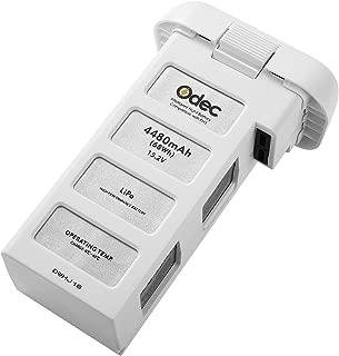 Odec DJI Phantom 3 Battery, Flight Battery for Phantom 3 Standard, Advanced , SE, Professional, 4K Drone 15.2V 4480mAh LiPo Battery Pack - Upgraded