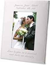 Best engraved silver picture frames Reviews